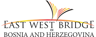 EAST WEST BRIDGE BOSNIA AND HEZEGOVINA Logo